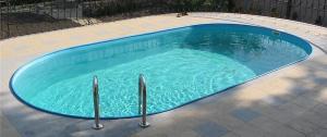 Сборный бассейн Summer Fun 4501010258KB овальный 623х360х150 см