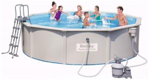 Бассейн каркасный со стальными стенками BestWay Hydrium Pools - 56384 460х120 см