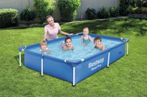 Каркасный бассейн Bestway 56401 221х150х43 Steel Pro