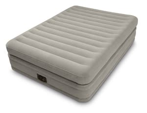 64446 Надувная кровать Prime Comfort Elevated Airbed 152х203х51см, встроенный насос 220V