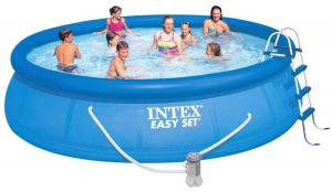 Надувной бассейн Intex 26168 457x122 Easy Set