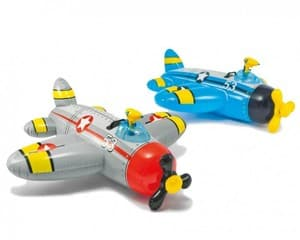 Надувная игрушка Самолет Intex арт.57537, 132х130см, от 3 лет