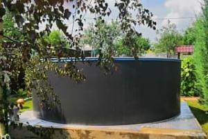 Сборный бассейн ЛАГУНА 48810 круглый 488х125 см (платина)