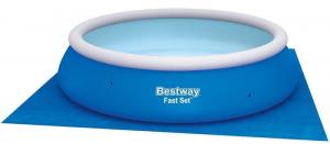 Подстилка Bestway 58001 под бассейны 335х335 см